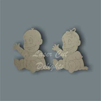 Baby Girl Boy 3mm 10cm