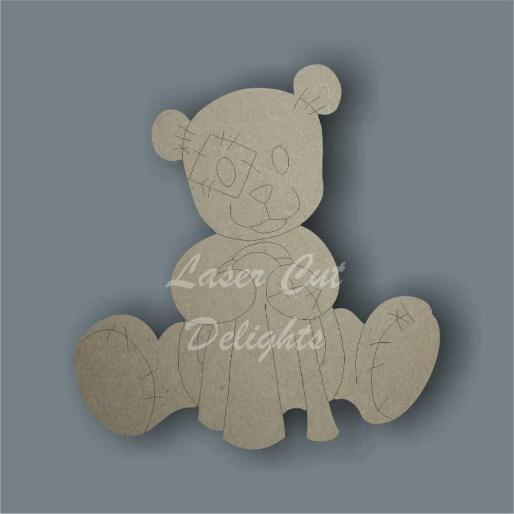 Blanket Teddy Bear 3mm