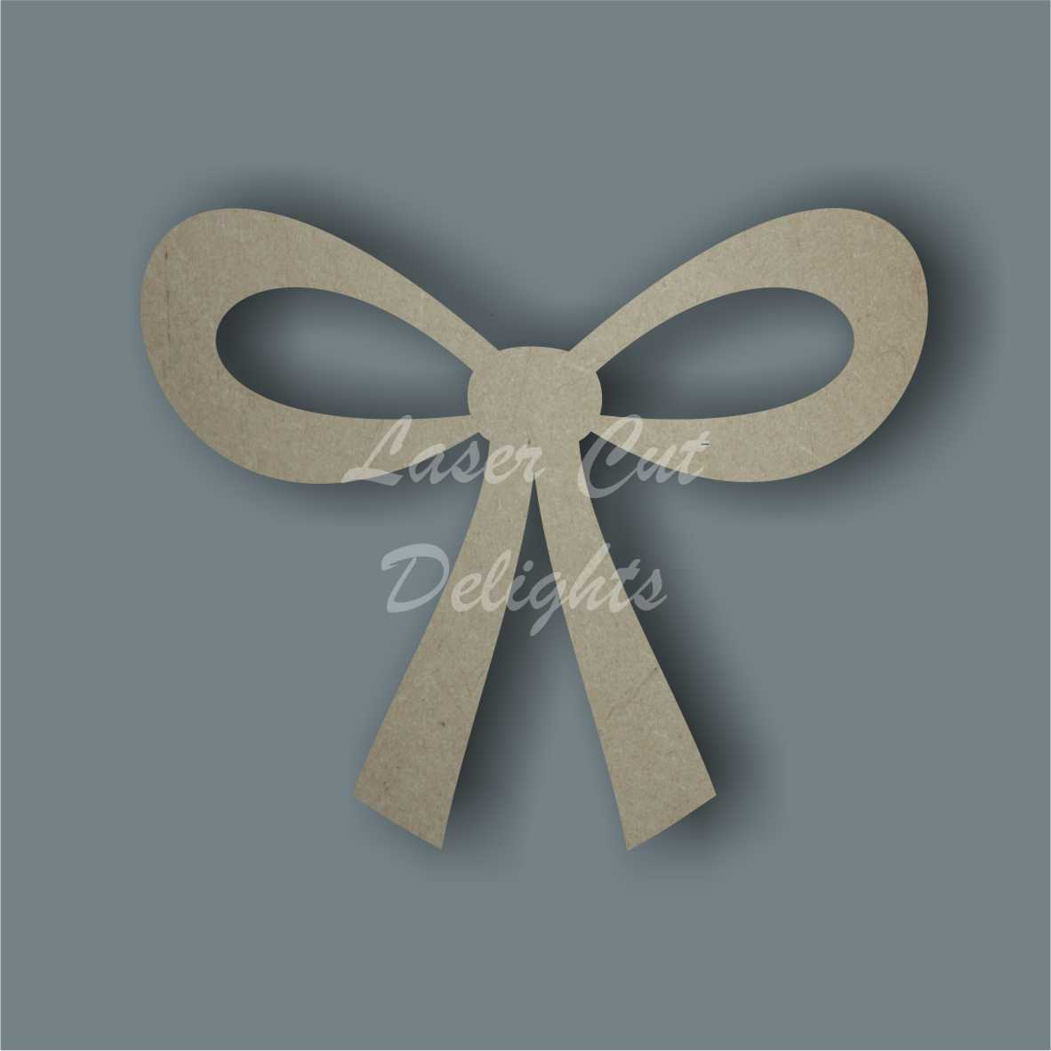 Hair Bow 3mm 8cm