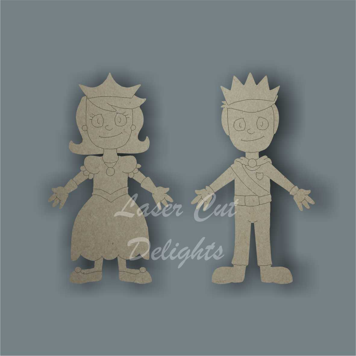Family Character Prince or Princess / Laser Cut Delights