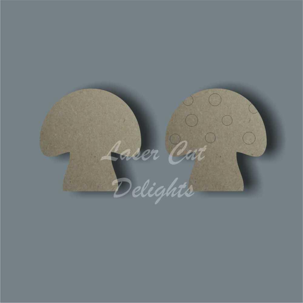 Mushroom Toadstool 3mm