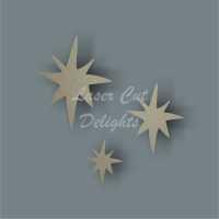 Twinkle Stars / Laser Cut Delights