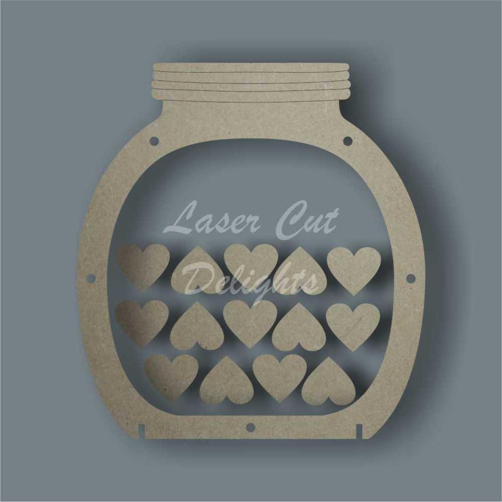 Drop Box JAR Reward Chart / Laser Cut Delights