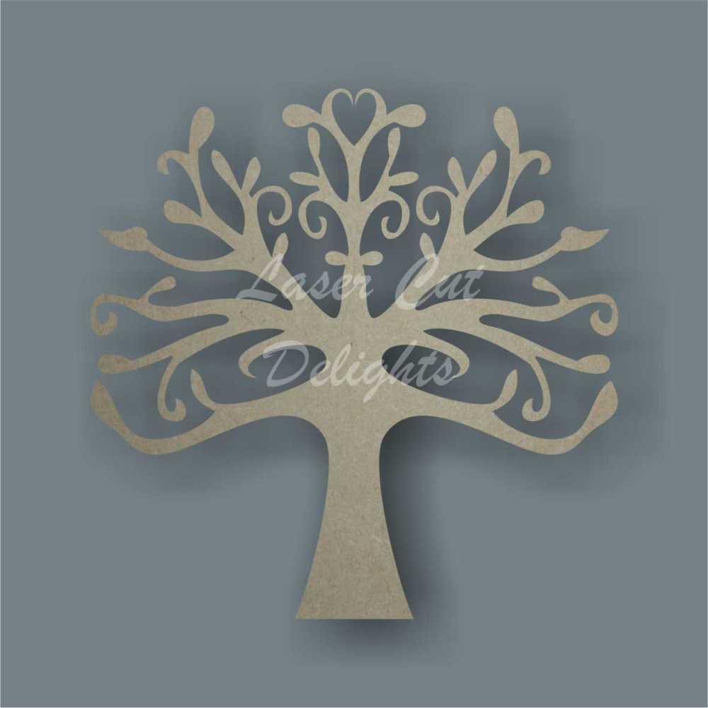 Symmetrical Tree 3mm