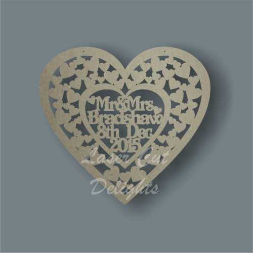 Heart of Hearts + Occasional Details 3mm 40cm