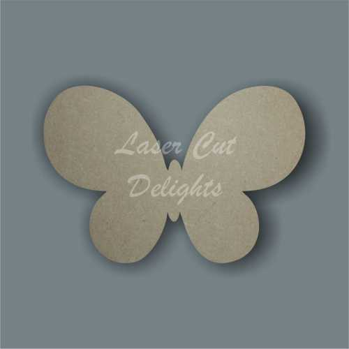 Butterfly (rounded) 3mm 10cm wide