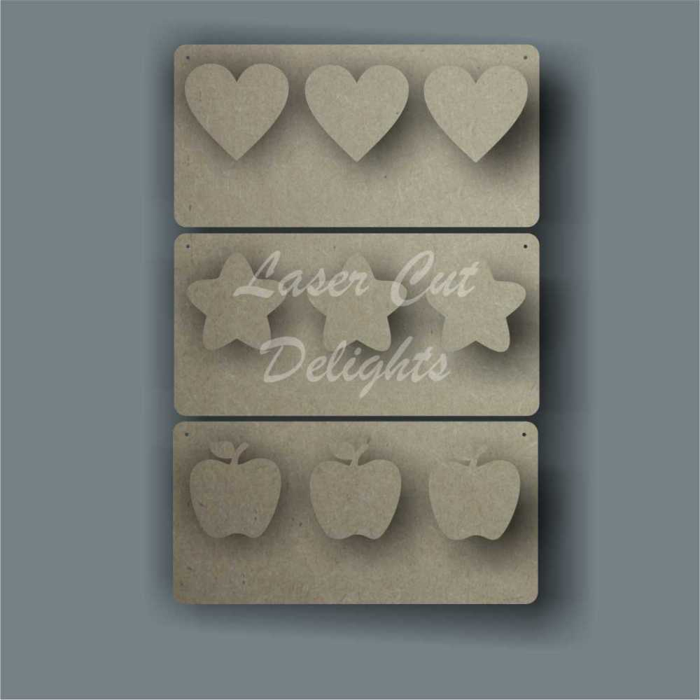 Weight Loss Plaque / Laser Cut Delights