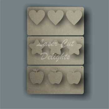 Weight Loss Plaque 30x15cm 3mm