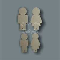 Keyring People Basic 3mm
