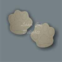 Paw Print (pairs) 3mm