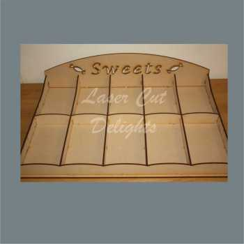 Selection Tray Large - Sweet Makeup Hair - 10 Sections