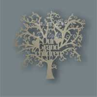 Tree Our My Grandchildren / Laser Cut Delights