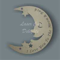 Moon BASIC with wording 3mm