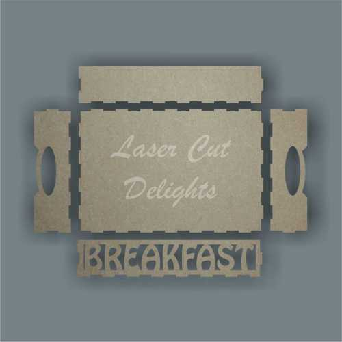 Tray - Breakfast 30x20cm 3mm