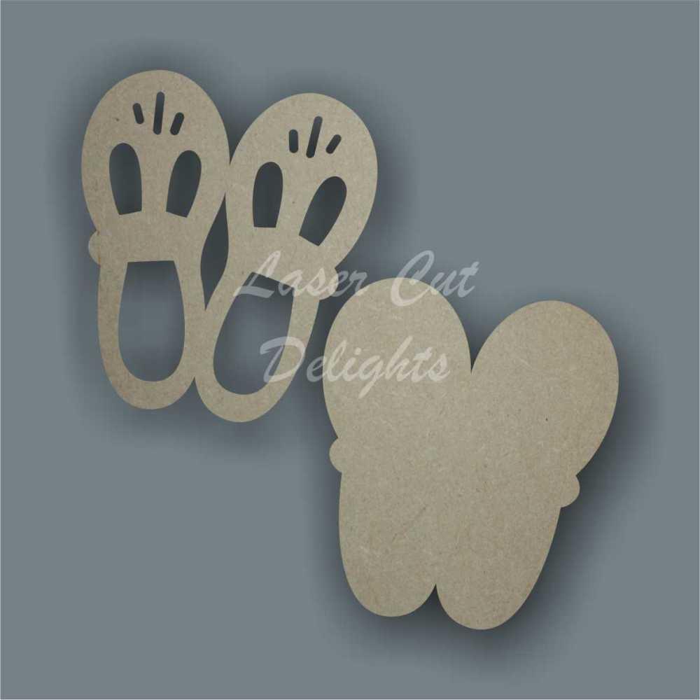 Shoes Cute 3D 10x8cm 3mm