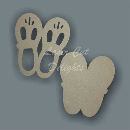 Shoes Cute 3D 10x8cm 3mm