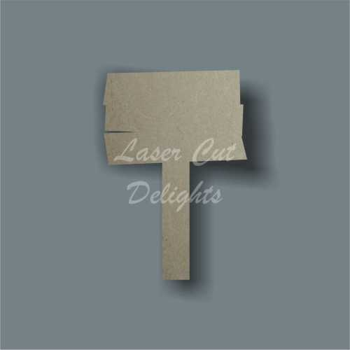 Standing Sign Blank (Fairy) 3mm 7.5cm