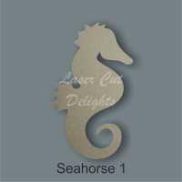 Seahorse 3mm / Laser Cut Delights