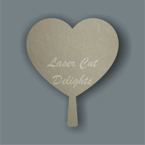 Heart with handle 15cm