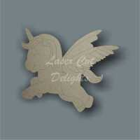 Unicorn or Horse Cute Flying 3mm