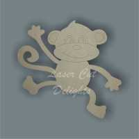 Monkey Hanging 3mm