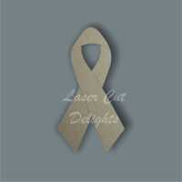 Awareness Ribbon / Laser Cut Delights