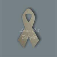Awareness Ribbon / Laser Cut Delights
