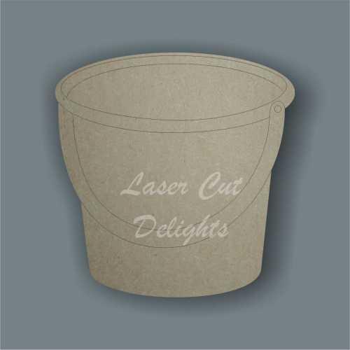 Bucket for the beach 3mm 8cm