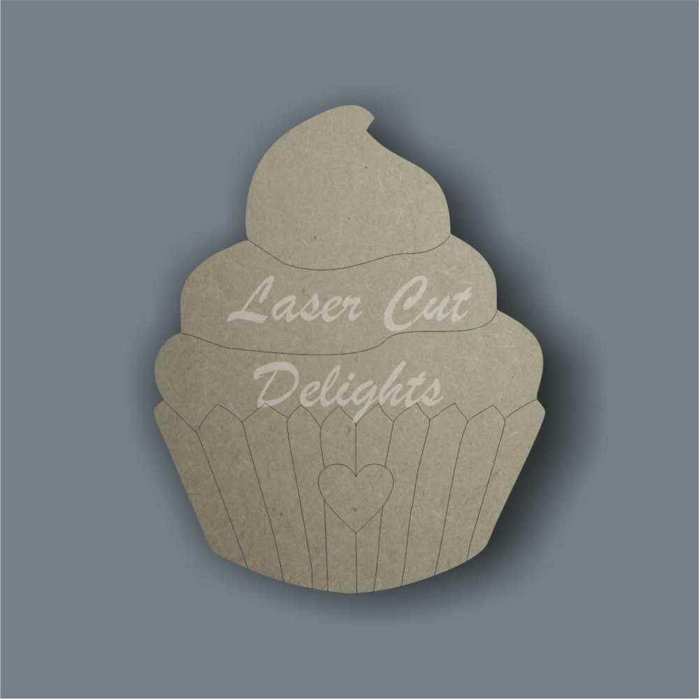 Cupcake Swirly 3mm