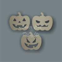 Pumpkin (Pk of 3) 3mm 10cm wide