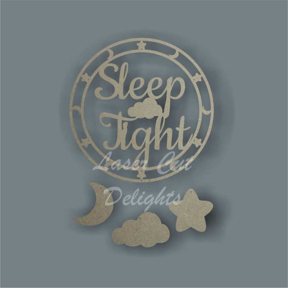 Dream Catcher - Sleep Tight / Laser Cut Delights