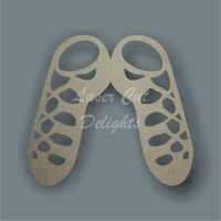 Irish Dance Shoes / Laser Cut Delights