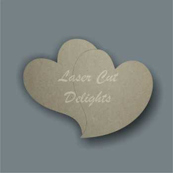 Heart (double) / Laser Cut Delights