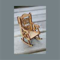 Chair - SMALL Dolls House Fairy Elf 8.5cm 3mm