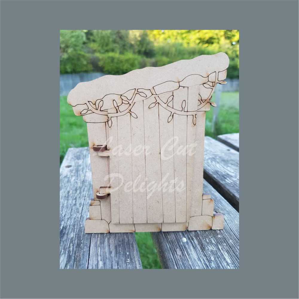 Moving christmas fairy door 3mm 15cm for Elf fairy doors