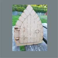 Moving BRICK Edged Fairy Door 3mm 15cm