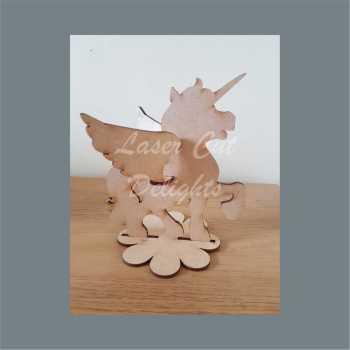 3D Unicorn 15cm 3mm