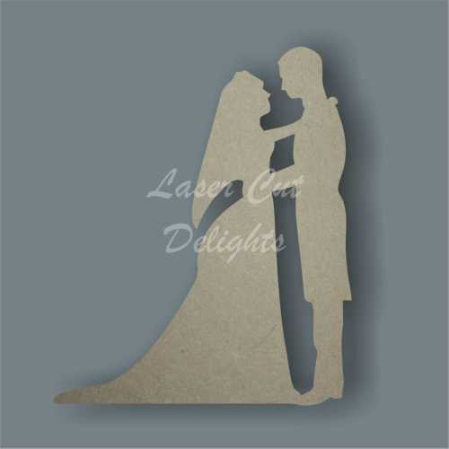Bride and Groom Wedding Couple First Dance 3mm 10cm