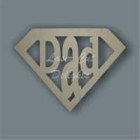 DAD Logo 3mm 10cm