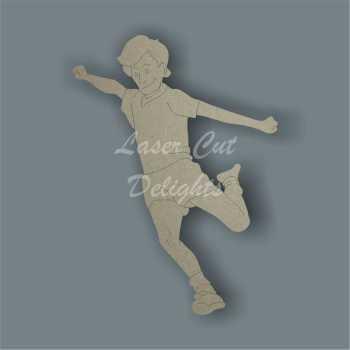 Footballer 3mm 10cm