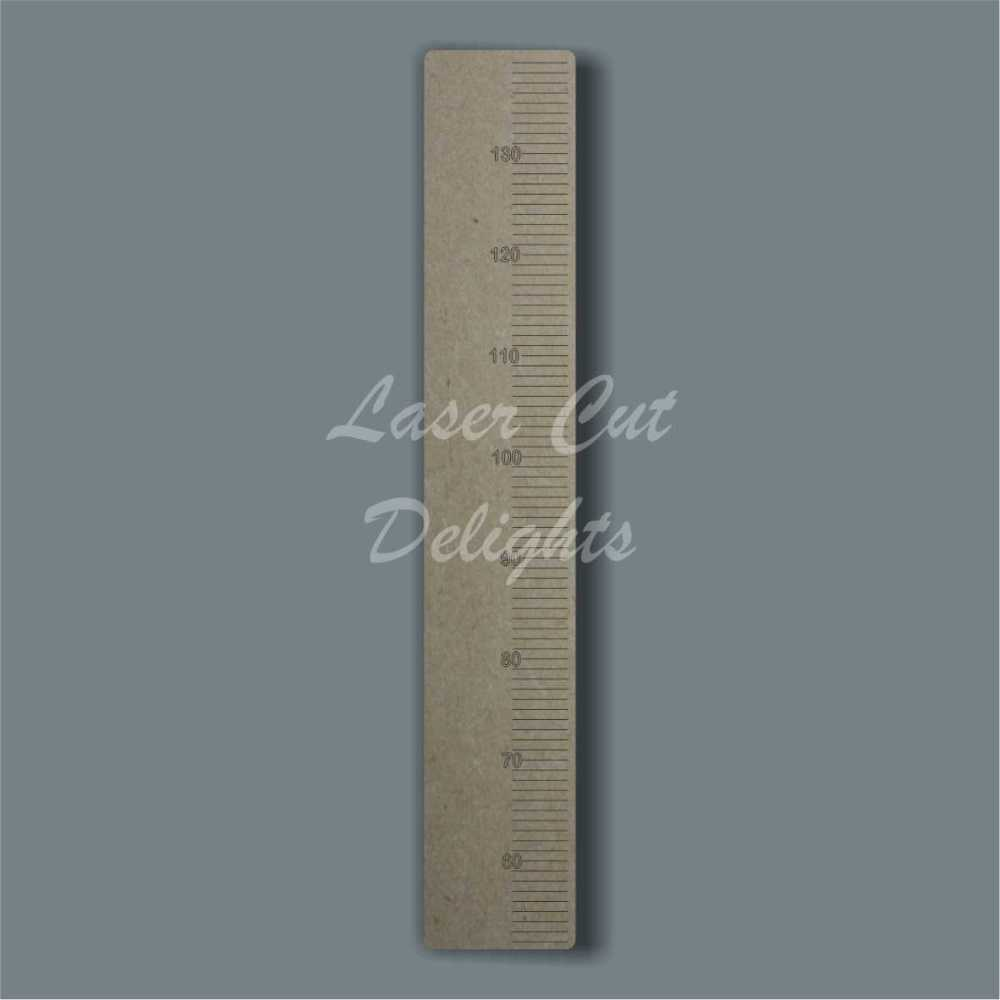 Basic Ruler Height Chart 6mm