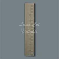 Basic Ruler Height Chart 6mm