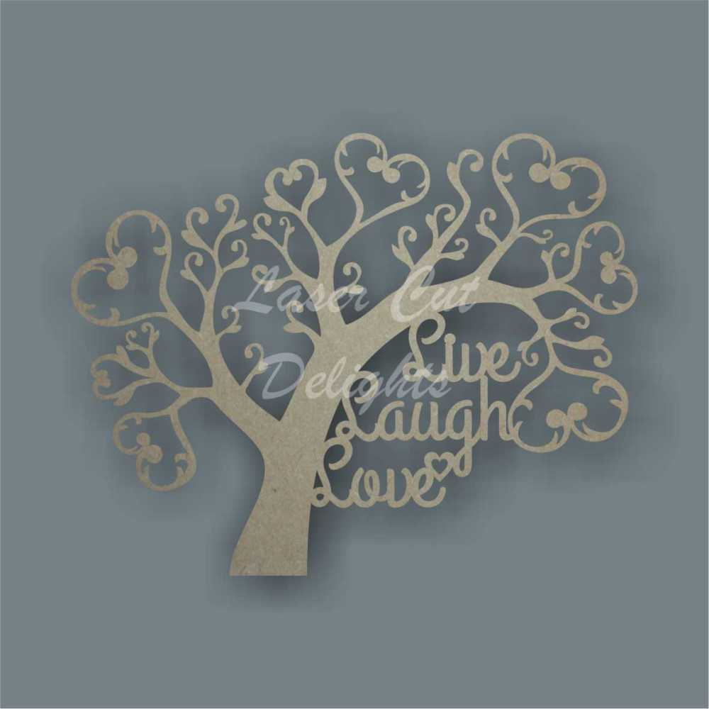 Tree T10 / Laser Cut Delights