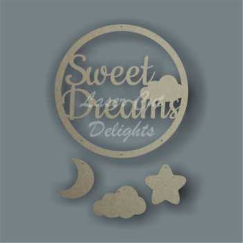 Dream Catcher - Sweet Dreams / Laser Cut Delights