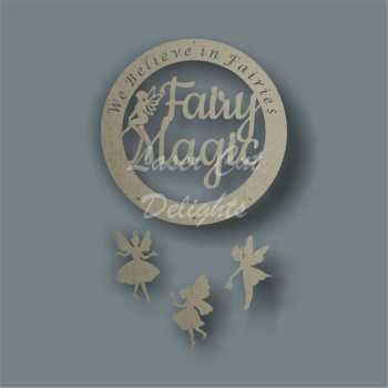 Dream Catcher - Fairy Magic / Laser Cut Delights