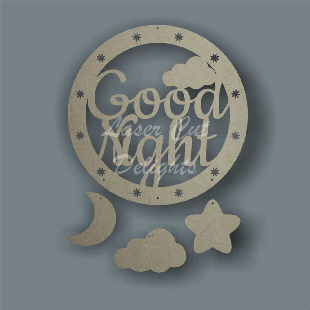 Dream Catcher - Good Night / Laser Cut Delights