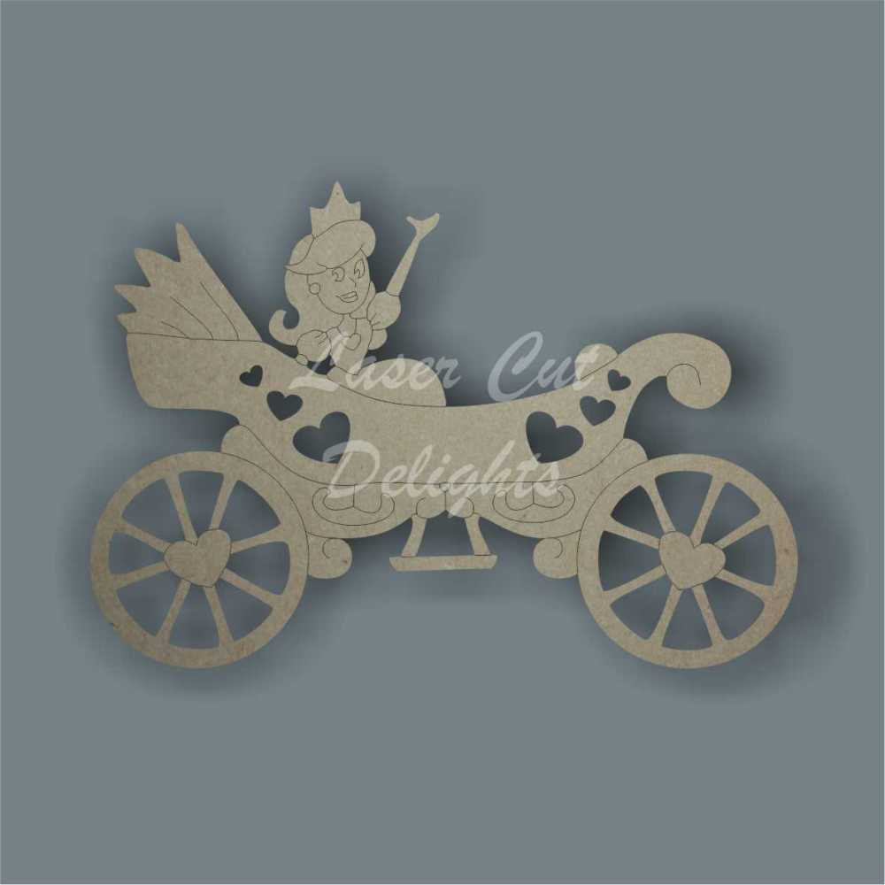 Princess Low Carriage 3mm 12cm