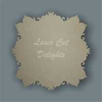 Ornate Backing ONLY - Various Shapes and Sizes 3mm