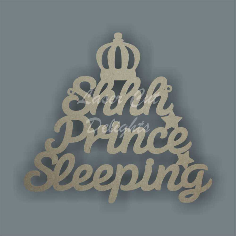 Shhh... Prince / Princess Sleeping (Crowns) 20cm 3mm