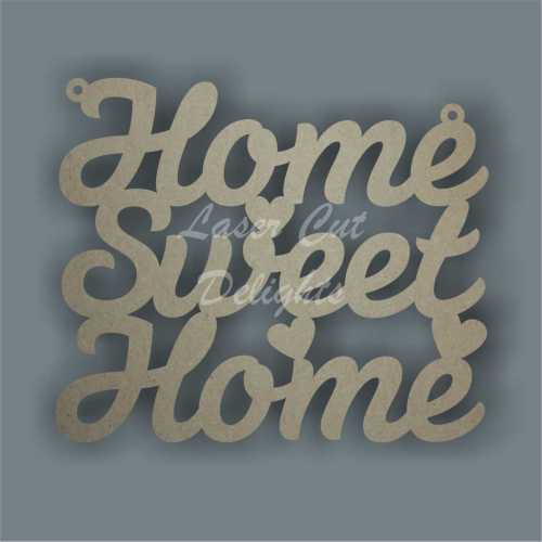Home Sweet Home 3mm 15cm